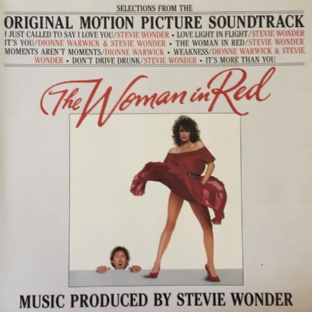 Stevie Wonder ‎- The Woman In Red: Selections From The Original Motion Picture Soundtrack (LP) (VG/EX-)